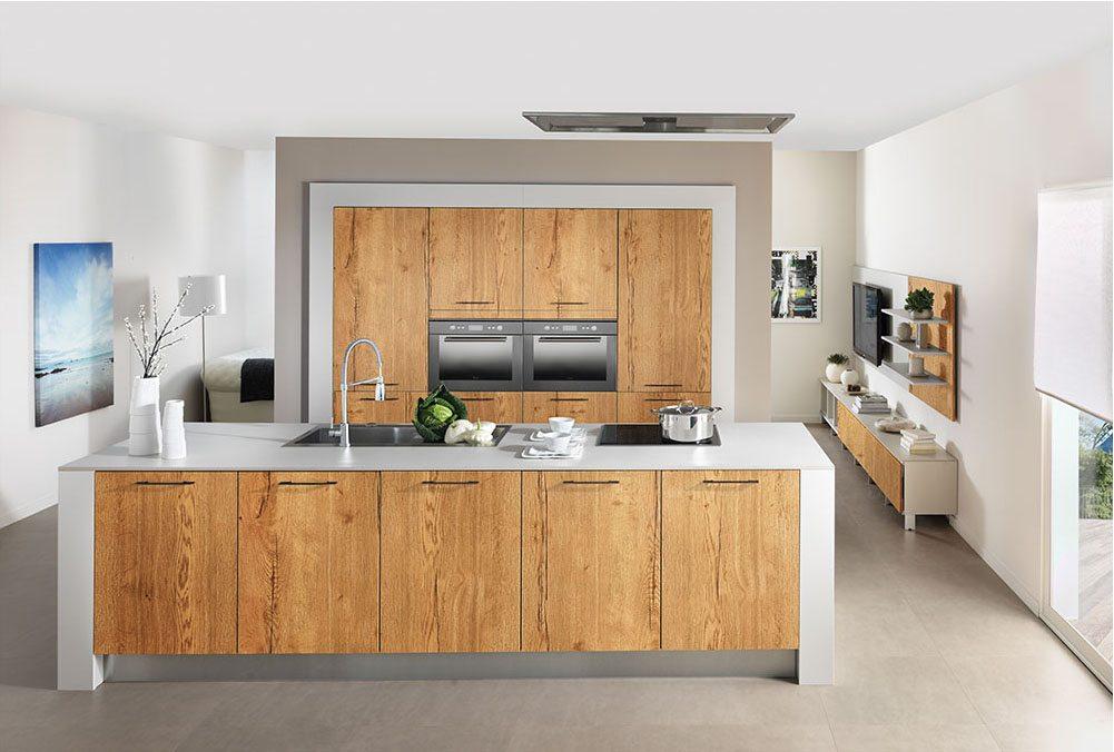 cuisines gamme design apf menuiserie sa. Black Bedroom Furniture Sets. Home Design Ideas