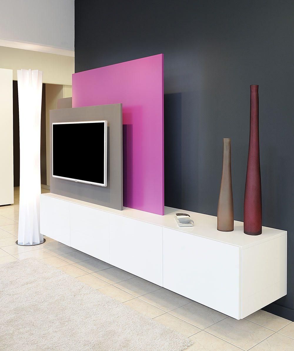 Apf menuiserie sa meubles tv et living sur mesure for Meuble tv living