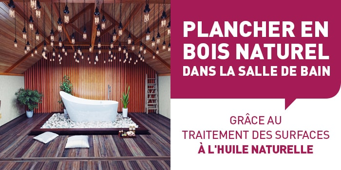 plancher en bois naturel dans la salle de bain apf menuiserie sa. Black Bedroom Furniture Sets. Home Design Ideas