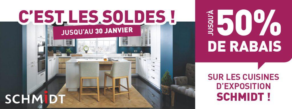 Soldes Sur Les Cuisines D'Exposition Schmidt ! | Apf Menuiserie Sa