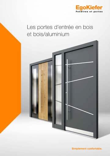 Les portes d'entrée en bois et bois/aluminium
