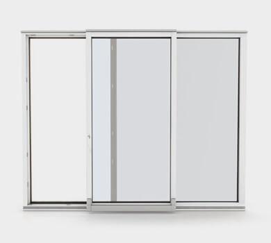 Modèle de porte fenêtre coulissante